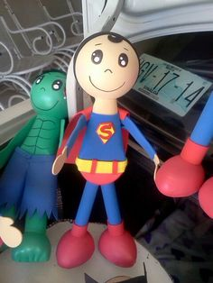 Superman y hulk