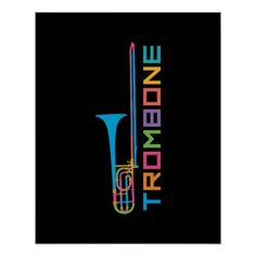 Shop Rainbow Color Trombone Poster created by evisionarts. Brass Band Instruments, Music Bedroom, Band Mom, Trombone, Artwork Pictures, Band Posters, Custom Posters, Custom Framing, Rainbow Colors