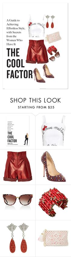 """Untitled #1119"" by aifosbr ❤ liked on Polyvore featuring Ingram Publishing, An Italian Theory, Philosophy di Lorenzo Serafini, Christian Louboutin, Thierry Lasry, Valentin Magro and Lilly Pulitzer"