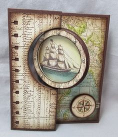 Stamp & Scrap with Frenchie: The Open Sea and Sweet treat