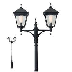 Corpuri de iluminat exterior STALP NEGRU 2XE27 HEIDELBERG 9224 REDO.9224