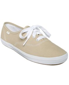 The crisp, sporty styling of the canvas Keds Champion Oxford Sneakers never go out of fashion. | Imported | Canvas upper | Sneaker with lace-up closure | Man-made flex sole | Web ID:564801