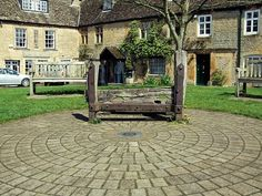 The stocks in Stow on the Wold