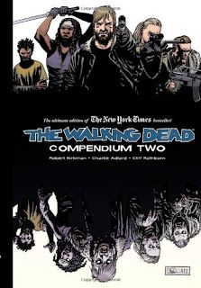 Series: Walking Dead Compendium Returning with the second eight volumes of the fan-favorite, New York Times bestseller series, The Walking Dead, collected into one massive paperback collection!