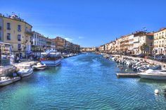 Sete, South of France