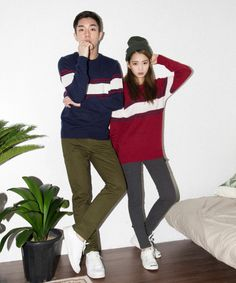Korean Fashion Blog online style trend Daily Fashion, Fashion Online, Korean Image, South Korea Fashion, Traditional Gowns, Korean Couple, Fashion Couple, Couple Outfits, Matching Outfits