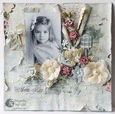 'Averie Kay' by Tonya Gibbs - Mixed Media