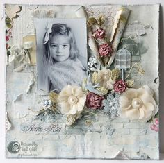 'Averie Kay' by Tonya Gibbs - Mixed Media