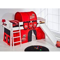 Hochbett Disney's Cars mit Rutsche 90 x 200 cm Jetzt bestellen unter: https://moebel.ladendirekt.de/kinderzimmer/betten/hochbetten/?uid=27802bf4-10f5-5016-b902-d167f5bbeabd&utm_source=pinterest&utm_medium=pin&utm_campaign=boards #kinderzimmer #hochbetten #betten #beds #kids Bild Quelle: wayfair.de