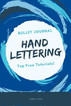 Bullet Journal Lettering Free Tutorials - How To Do Brush Lettering In Bullet Journals - Learn How To Hand Letter In Your Bujo Calligraphy Tutorial, Hand Lettering Tutorial, Calligraphy Fonts, Script Fonts, Modern Calligraphy, Bullet Journal Tracker, Bullet Journal Layout, Bullet Journals, Lettering Styles