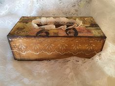 Decoupage Tutorial With Effect of Wood - Ντεκουπάζ με Εφέ Ξύλου - Diy Step by Step - YouTube