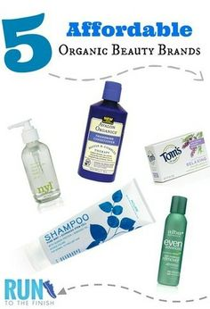 5 Affordable Organic Beauty Brands