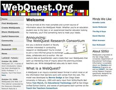 WebQuest Page