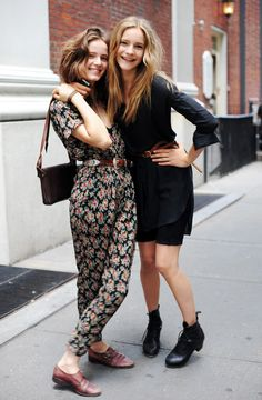 models, fashion, friends