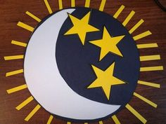 Creation day 4 sun moon and stars a kid 39 s craft for Moon and stars crafts