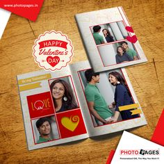 Personalised Photo Book made specially for you, Let her know that your love is True! #love #valentinesday #greetingcard #Ahmedabad #photopages #love #valentinesday #greetingcard #Ahmedabad #photopages