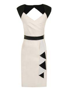 Dorothy Perkins Robe asymétrique à volants en simili cuir | Femmes - Vêtements - Robes