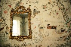 Adele M. Reed Felbrigg  18th-century chinese wallpaper