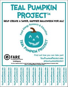Teal Pumpkin Project™ Downloads - Food Allergy Research & Education