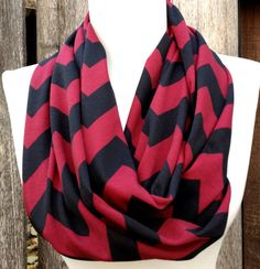 Hey, I found this really awesome Etsy listing at https://www.etsy.com/listing/167030830/maroon-and-black-chevron-scarf-fsu-texas