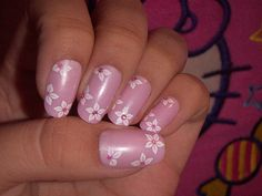 Pink Nail Art Design Do you like Pink Nails? Here I bring you some great ideas of different designs for you to try. Cute Pink Nails, Pink Nail Art, Nail Art Diy, White Nails, White Nail Designs, Colorful Nail Designs, Cool Nail Designs, Glitter Kunst, Glitter French Manicure