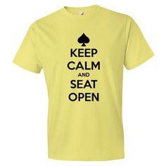 Short sleeve t-shirt Seat Open