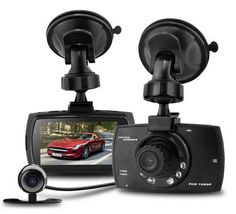 "2.7"" Dual Lens Car DVR Full HD 1080P Car Rearview Camera Recorder 140 Wide Angle Dash Cam Drive Recorder Night Vision G-Sensor"