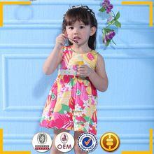 2 ano do bebê vestido de anjo 2015 Summer fashion estilo flor crianças vestido da menina