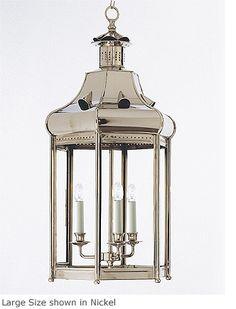 Hanging Hexagonal Lantern HL 71 Height 21.75  Width 11.25  Depth 10        Weight 9 lb
