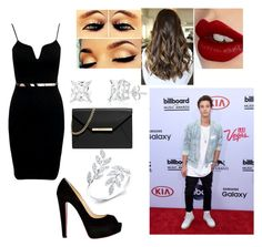 """""""Going on a date with Cameron Dallas"""" by catlali ❤ liked on Polyvore featuring Christian Louboutin, MICHAEL Michael Kors, Charlotte Tilbury, Britney Spears, outfit, date and CameronDallas"""