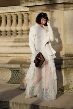 STYLECASTER | How to Wear White This Winter