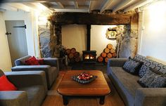 Cool holiday cottages in Snowdonia, Wales – in pictures. Rhyd-Fudr, nr Llanuwchllyn  A quintessential Welsh mountain cottage, this simple whitewashed hideaway was built in the 18th century above the southern end of Bala Lake. Sleeping four, it has everything you need for a rustic getaway (woodburning stove, huge bath for post-walk soaks, great views) but none of the frills you don't (satellite TV, ice maker, hot tub)...  Photograph: PR