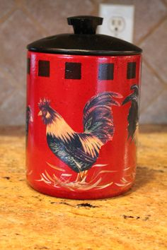 rooster and chicken decorations for kitchen   ... ..Country Decor..Home Decor....Kitchen Decor...Chicken Collector