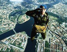 Airborne over St.Petersburg