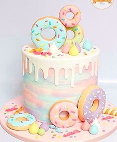 Birthday Party for Girls Two Sweet Birthday Party Ideas donuts Birthday Donuts birthday party Girls Ideas Party Sweet 2nd Birthday Party For Girl, Donut Birthday Parties, Birthday Ideas, 10th Birthday Cakes, Donut Birthday Cakes, Art Birthday Cake, Birthday Photos, Cute Desserts, Drip Cakes
