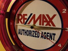 Remax Real Estate Agent Office Vintage Retro by nostalgiasigns