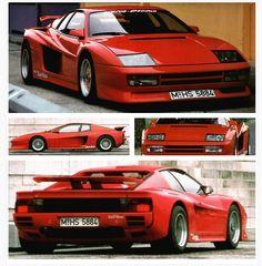 1985 Ferrari Testarossa Turbo by Koenig Specials
