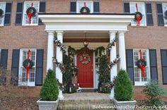 Christmas Porch Decorating