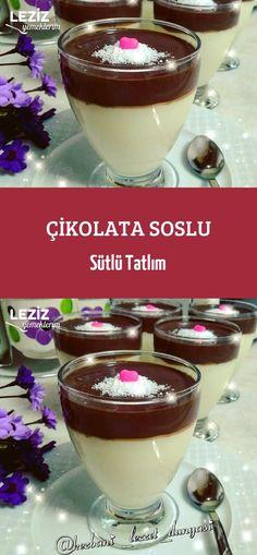 rezept einfach Milky Honey with Chocolate Sauce Turkish Recipes, Ethnic Recipes, Turkish Kitchen, Salad Bar, Easy Cake Recipes, Food Cakes, Salad Recipes, Tart, Blueberry