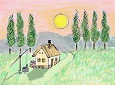 A Kis macska háza Kindergarten, Pumpkin, School, Painting, Future Tense, Buttercup Squash, Pumpkins, Painting Art, Paintings