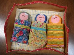 Matryoshka triplet babies