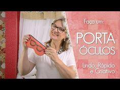 PORTA ÓCULOS COM MOLDE - lindo, rápido e criativo | Dica de Sexta - YouTube