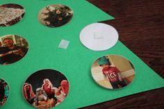 Наряжаем с ребенком новогоднюю ёлку фотографиями