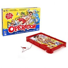 Superb Classic Operation Game Now at Smyths Toys UK. Shop for Hasbro Board Games At Great Prices. Free Home Delivery for orders over Classic Bookshelves, Operation Game, Game Prices, Board Games For Kids, Kid Games, Toys Uk, Summer Games, Game Guide, Game Sales