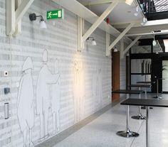 Graphic concrete patterning in buildings around the world.e SC Johnson memorial building - Fosters and Partners,Skanska headquarters - Larkas & Laine Oy. Lund, Concrete Design, Unique Image, Centre, Building, Outdoor Decor, Archive, Home Decor, Decoration Home