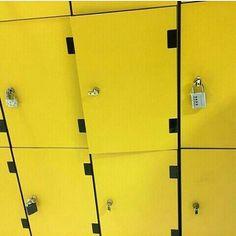 #locker #yellow #tumblr