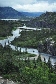 View of Tormented Valley, Skagway, Alaska