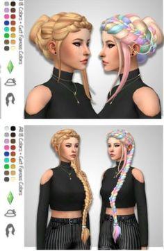 Los Sims 4 Mods, Sims 4 Cas Mods, Sims 4 Mods Clothes, Sims 4 Clothing, Die Sims 4 Packs, Sims 4 Anime, The Sims 4 Cabelos, Pelo Sims, Sims 4 Dresses