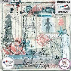 Sur la Plage by PerlineDesign