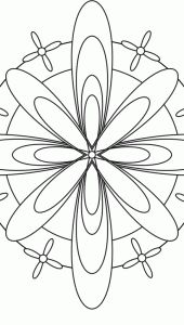 Flower Mandala Design 30 > Flower Mandalas   마음놀이터 - 마음 그리고 성찰